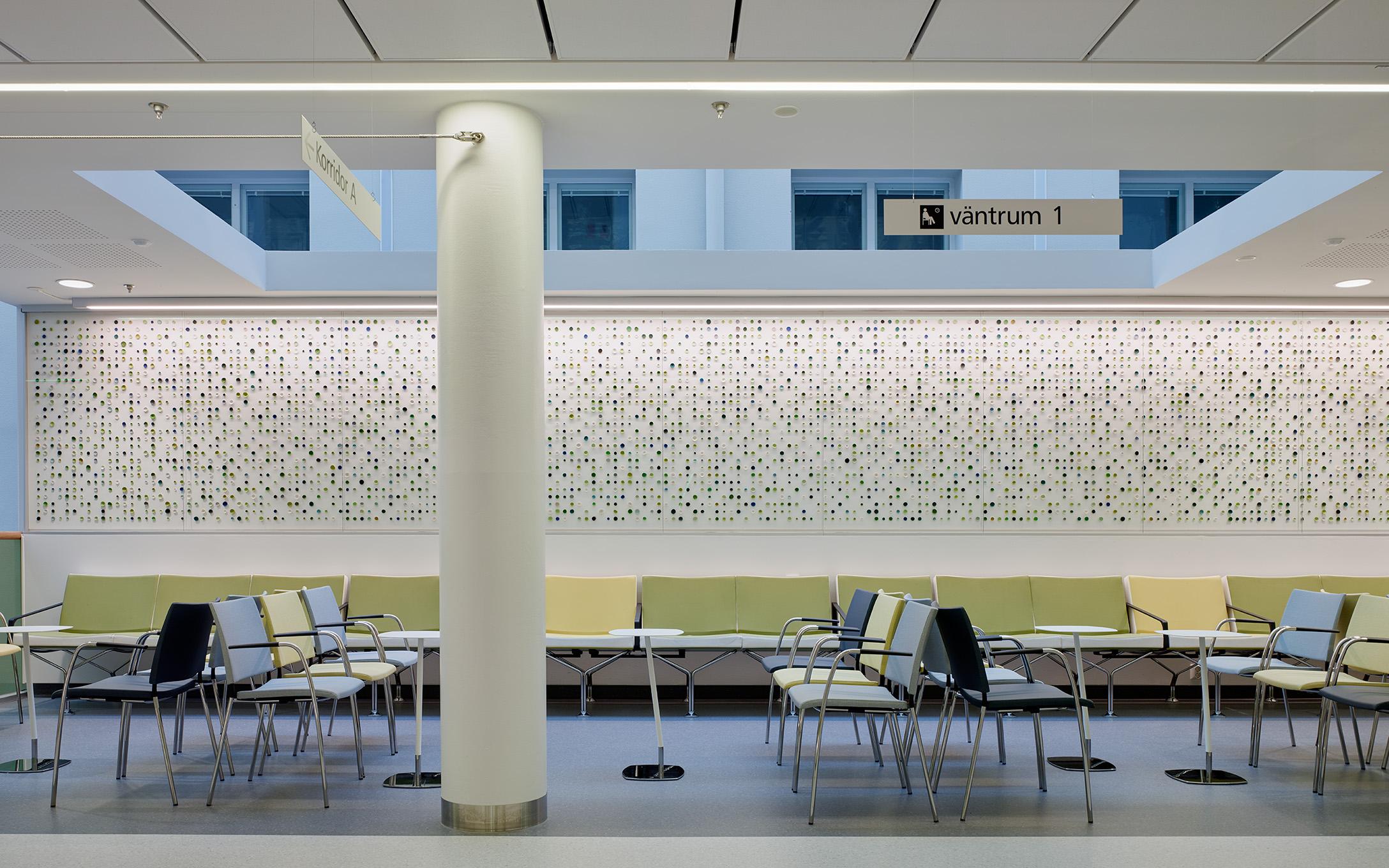 Harens år Verk av Kazuyo Nomura på Bild- och interventionscentrum Sahlgrenska Universitetssjukhuset