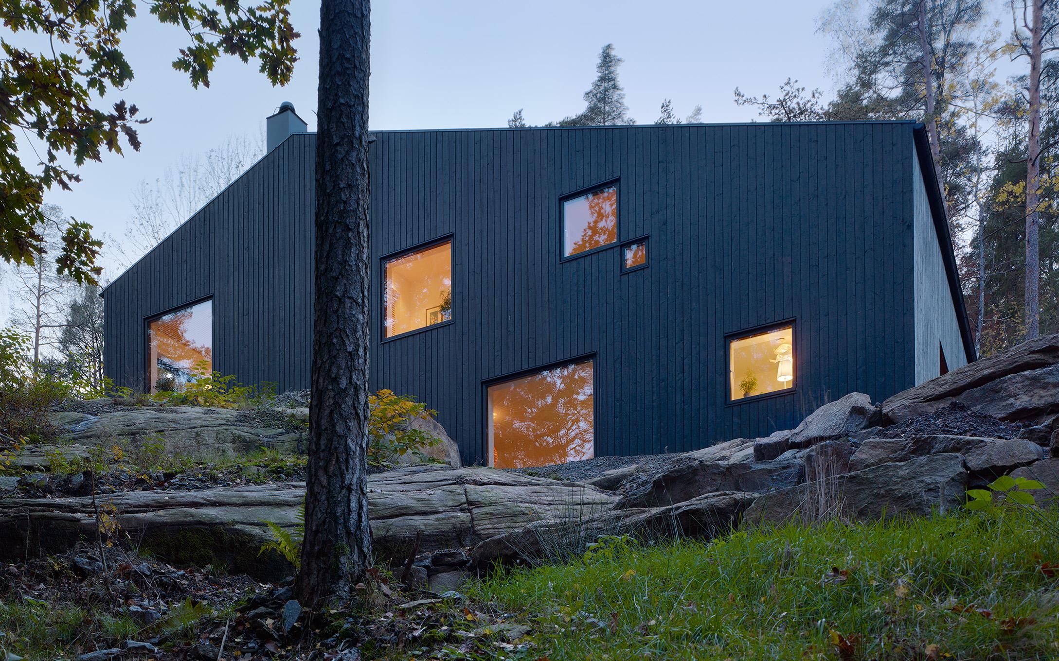 Villa Mölnlycke ritat av Richardsdotter Callermo Arkitekter